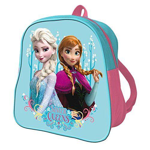 ICYMI: Disney Sac à dos 24 cm – La Reine des Neiges Sac à dos enfants, 24 cm, Bleu: Sac à dos La Reine des Neiges de 24 centimètres avec…
