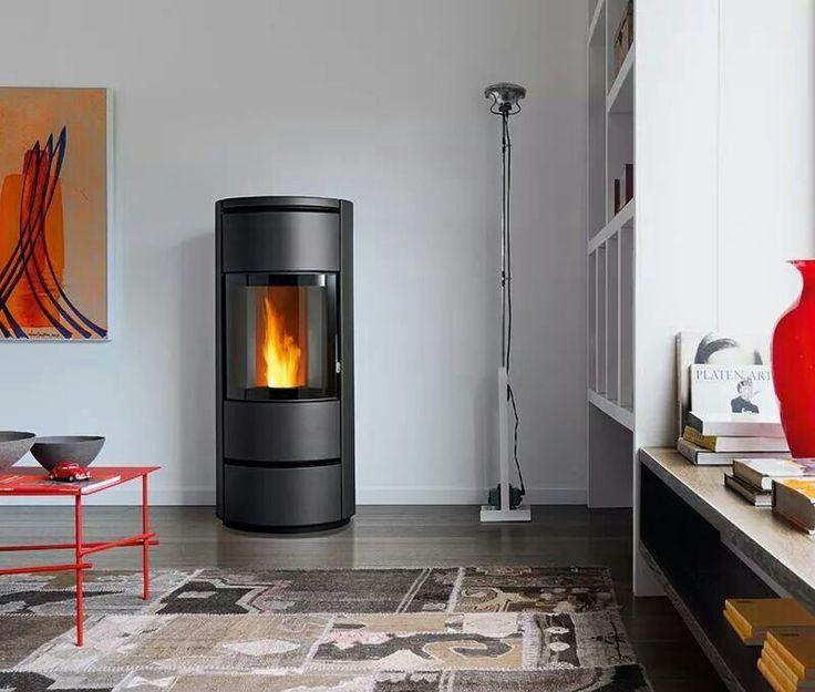 les 9 meilleures images du tableau poele a granule deco sur pinterest po les granul s de. Black Bedroom Furniture Sets. Home Design Ideas