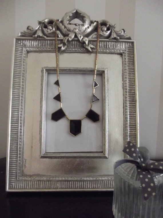 House of Harlow Geometric Necklace   £7.00  Visit Bea Boutique shop etsy.com/shop/beaboutiqueuk