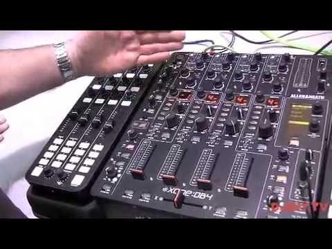 Allen and Heath Xone DB4 and K2 updates @Sanam Nassirpour Nassirpour Nassirpour Ta 2013 with DJkit.tv - YouTube / El mixer, y punto pelota. No hay otros.