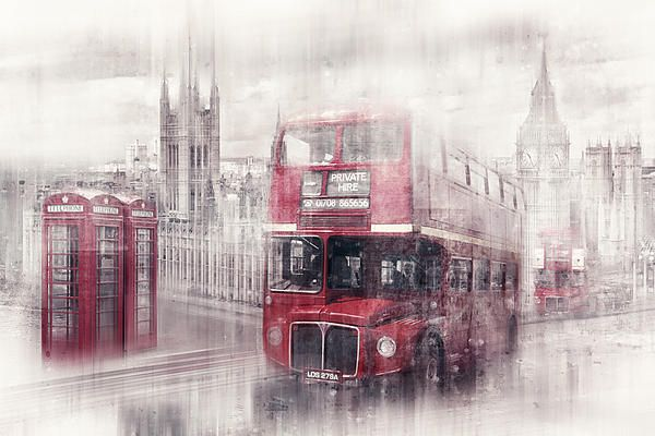 """City-Art LONDON Westminster Collage II"". Find more online shops here: http://www.melanieviola-fotodesign.de/shops-kunst-kaufen.html"