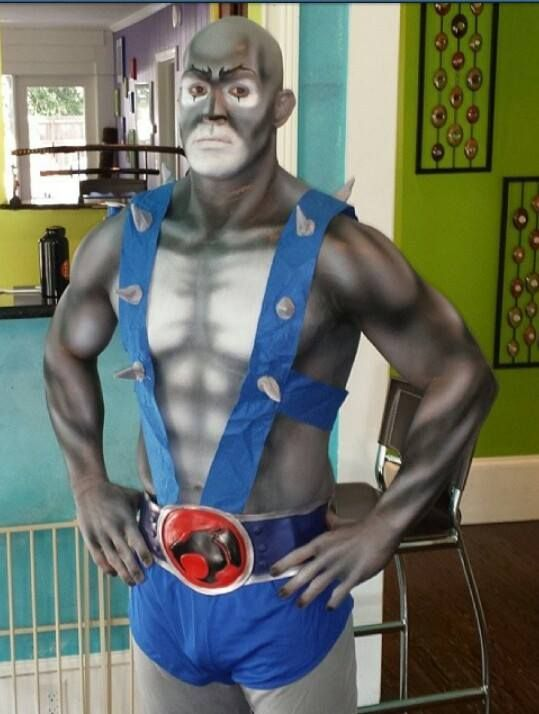 Panthro from Thundercats. I'm re-pinning this because I'm impressed.