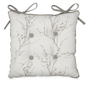 Pussy Willow Dove Grey Seat Pad
