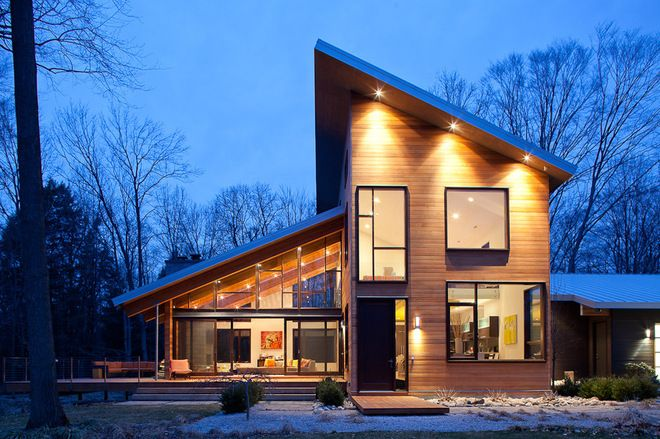 skillion and lean to roof - Google Search                                                                                                                                                                                 More