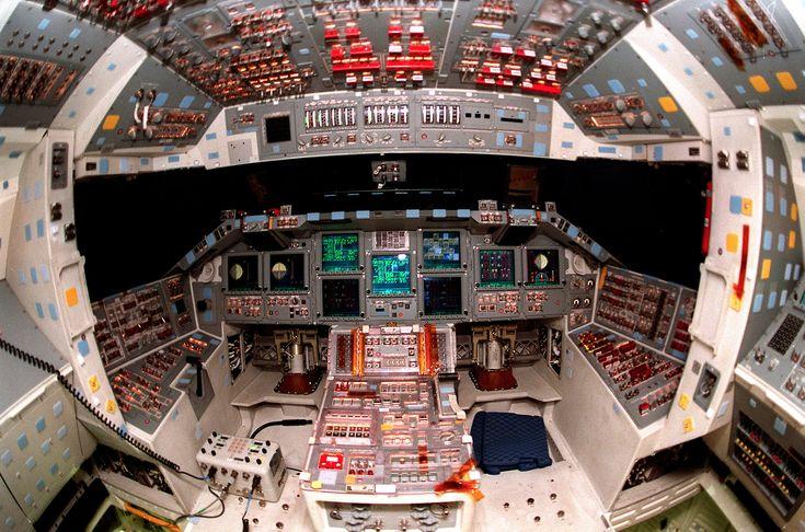 space shuttle controls                                                                                                                                                      Mais