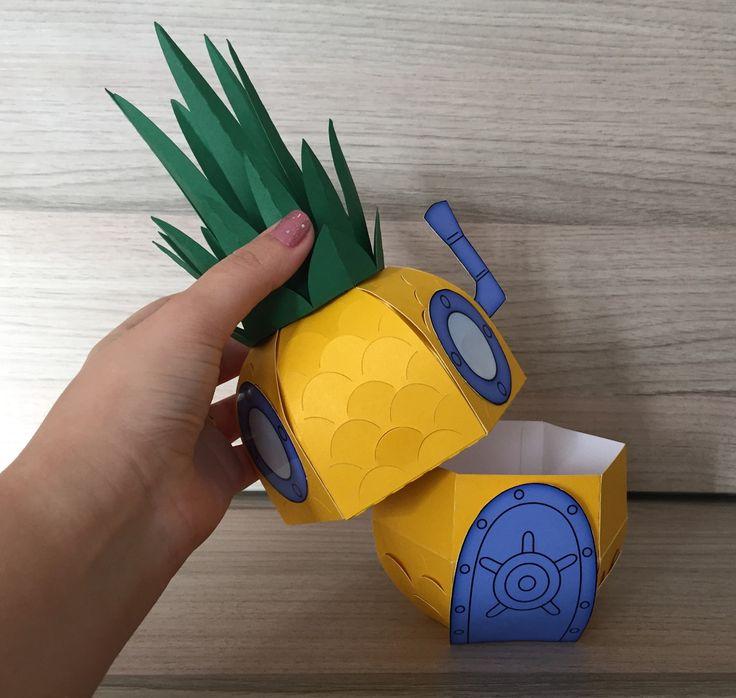 caixa-casa-do-bob-esponja-caixa-abacaxi-bob-esponja