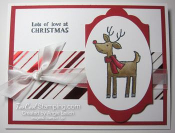 Holiday Stamp-a-Stack: Santa's Gifts Easel Cards