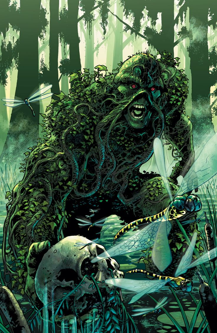 On sale JANUARY 28 • 48 pg, FC, $4.99 US • RATED T Swamp Thing ...