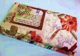 ★簡単★ 通帳ケース 一枚布を3箇所縫うだけ!の作り方|ソーイング|編み物・手芸・ソーイング