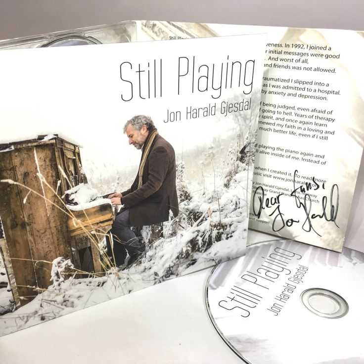 Still Playing - CD signed by Jon Harald, (Signert)
