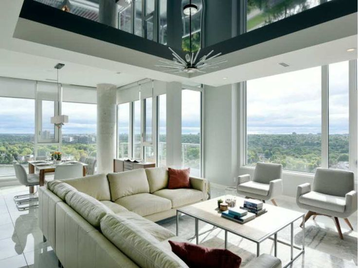 Chantale Charette, the Principal Interior Designer and Landscape Architectural Technician at Studio 853, completely customized this Landsdowne Live Penthouse. It is the most expensive condo currently for sale in Ottawa.