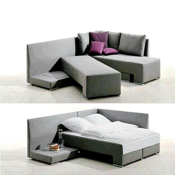 Угловой диван-кровать.