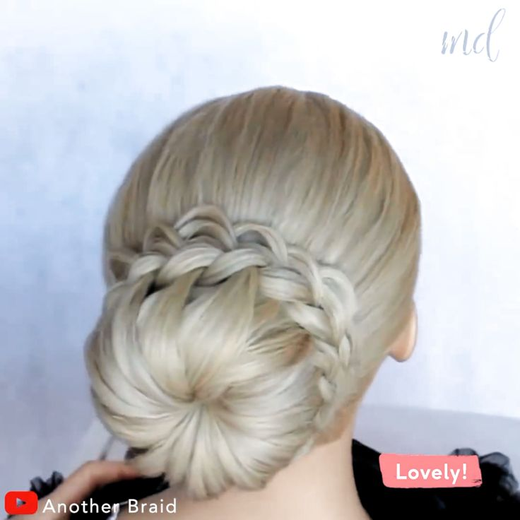 Wow! This is such a cool braid & yet so simple      By: @Another Braid