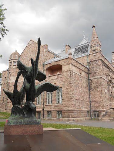 Turku, Aurakatu (Auragatan) 26, Art museum (Gustaf Nyström 1904) Photo Jacques Lassere