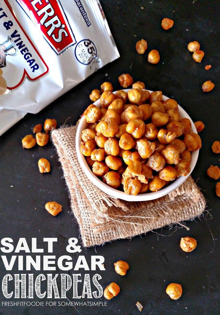 Salt and Vinegar Chickpeas Recipe - Somewhat Simple