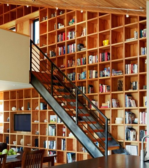 12 Astonishing Staircase Bookcase Picture Ideas