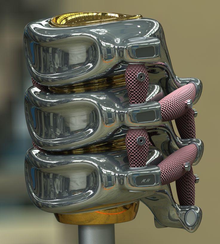 Hydraulic actuators. https://vimeo.com/84085453