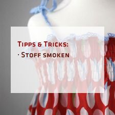 pattydoo tutorial #3: Stoff smoken | pattydoo