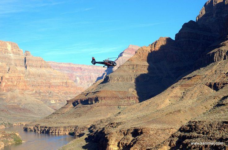 voo de helicoptero pelo Grand Canyon