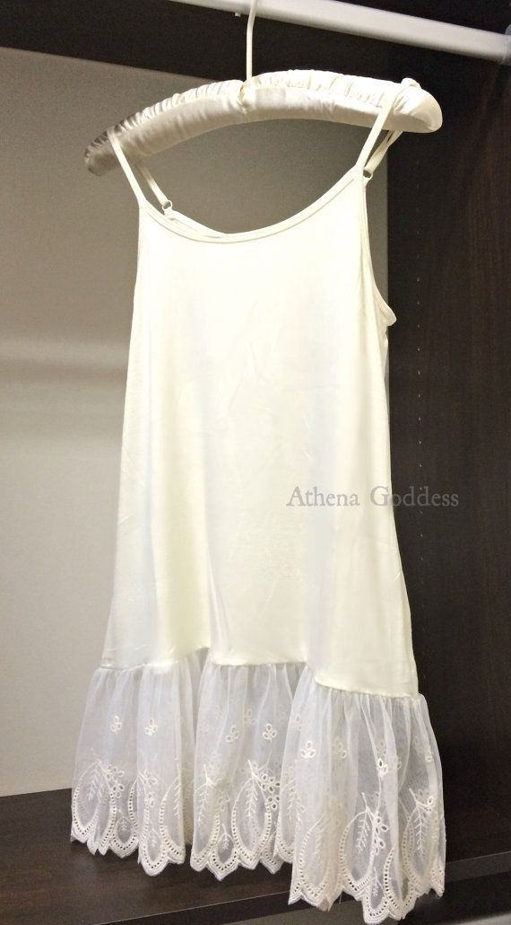 Lace Top Extender Grace and Lace Tank Top by AthenaGodess on Etsy
