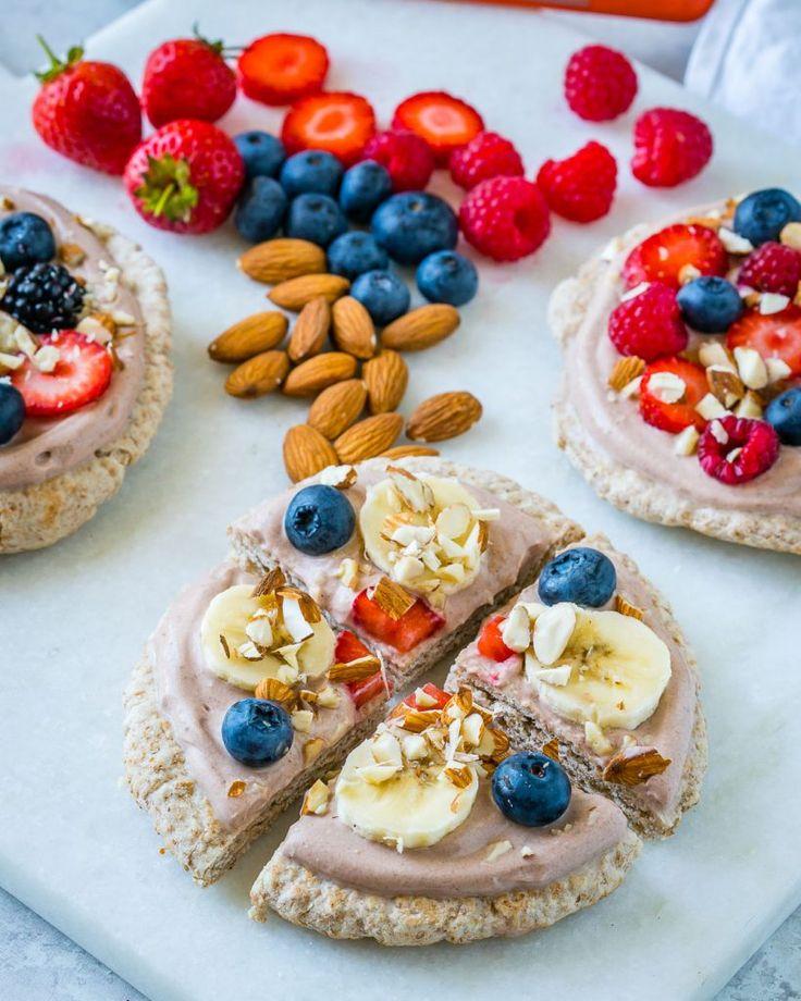 Clean Mini Superfood Breakfast Pizza Recipe