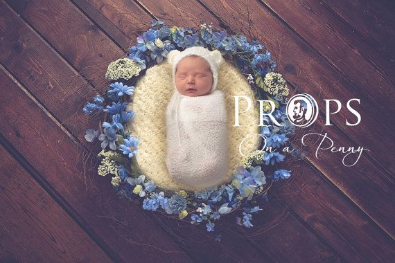 Newborn nest backdrop 5 different settings in one set digital backdrop newborn photography props