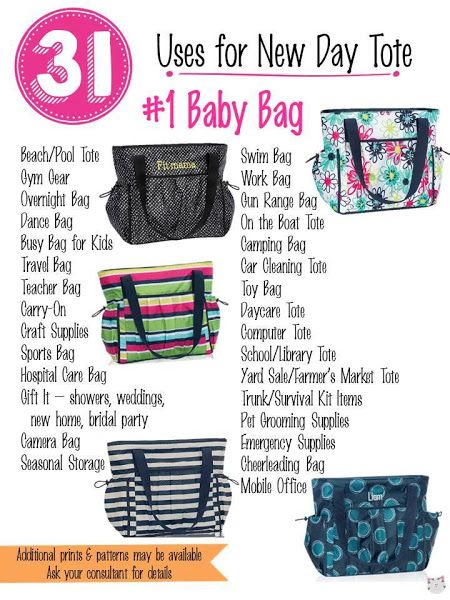 31 Uses for Thirty-One New Day Tote! #Carrie31Bags