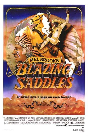 Blazing Saddles - Had to take all the buddies to it over and over again. The beans scene alone...