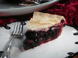 """Cherry Pie Inspired By an """"Old Fashioned"""" Cocktail (Sour Cherries Stewed With Raw Sugar, Bourbon and Orange Bitters)"""