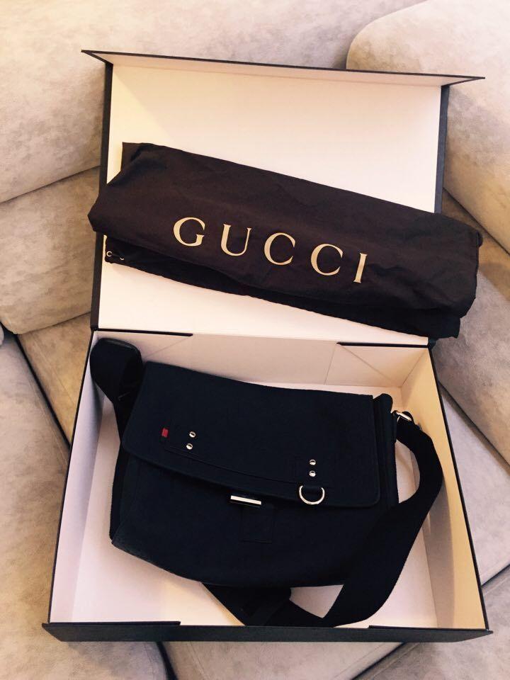 Auth Gucci Hand Shoulder Bag Black Monogram Leather #Gucci #ShoulderBag