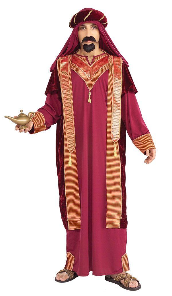 Deluxe Sultan Adult Costume - Arabian Costumes