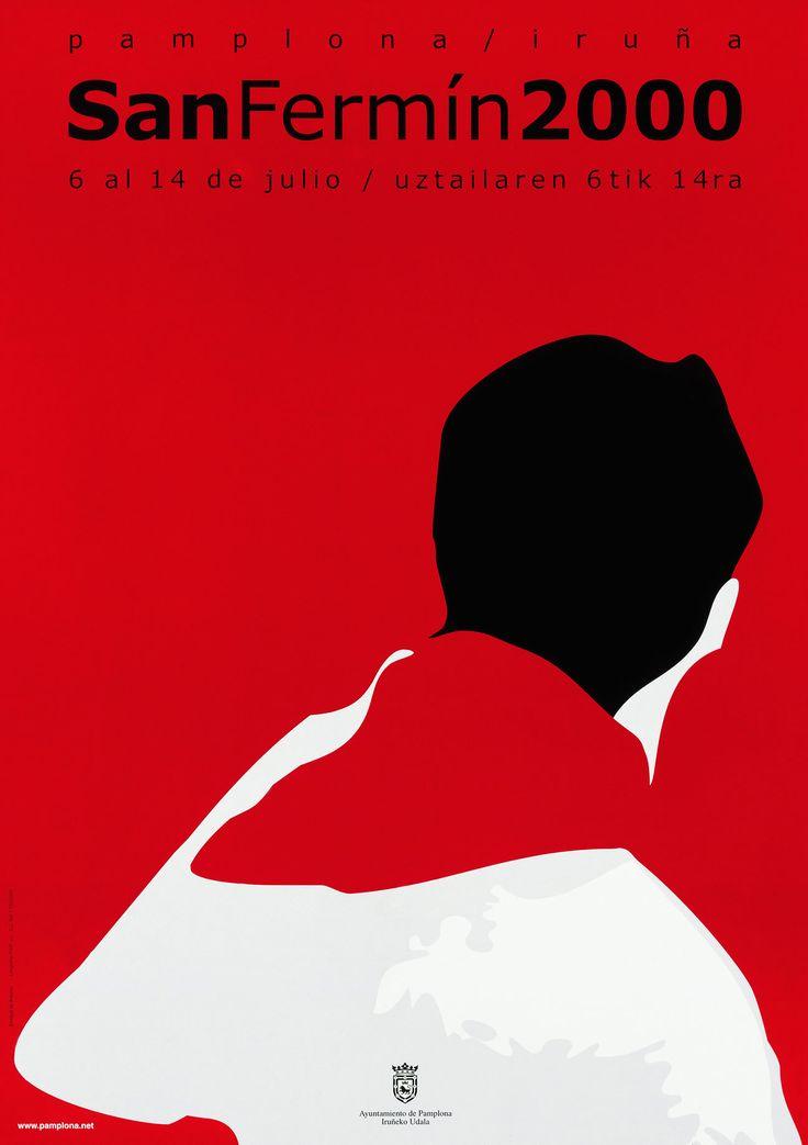 Cartel San Fermín 2000  Autor: ANTONIO DE ANTONIO CEBRIÁN