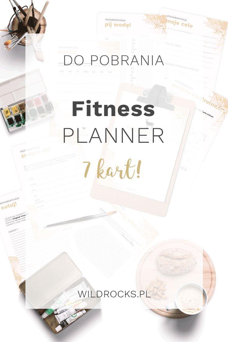 Pobierz darmowy fitness planner WILDROCKS - 7 kart dzięki którym zmotywujesz się…