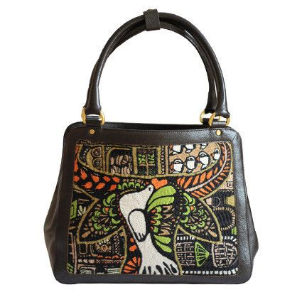 Water Buffalo Square Tote C1
