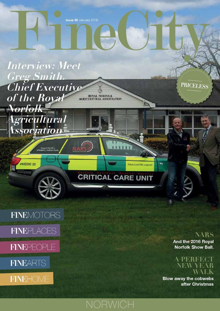 FineCity Maqgazine - January 2016  FineCity Magazine for our fine city of Norwich. The January 2016 edition.