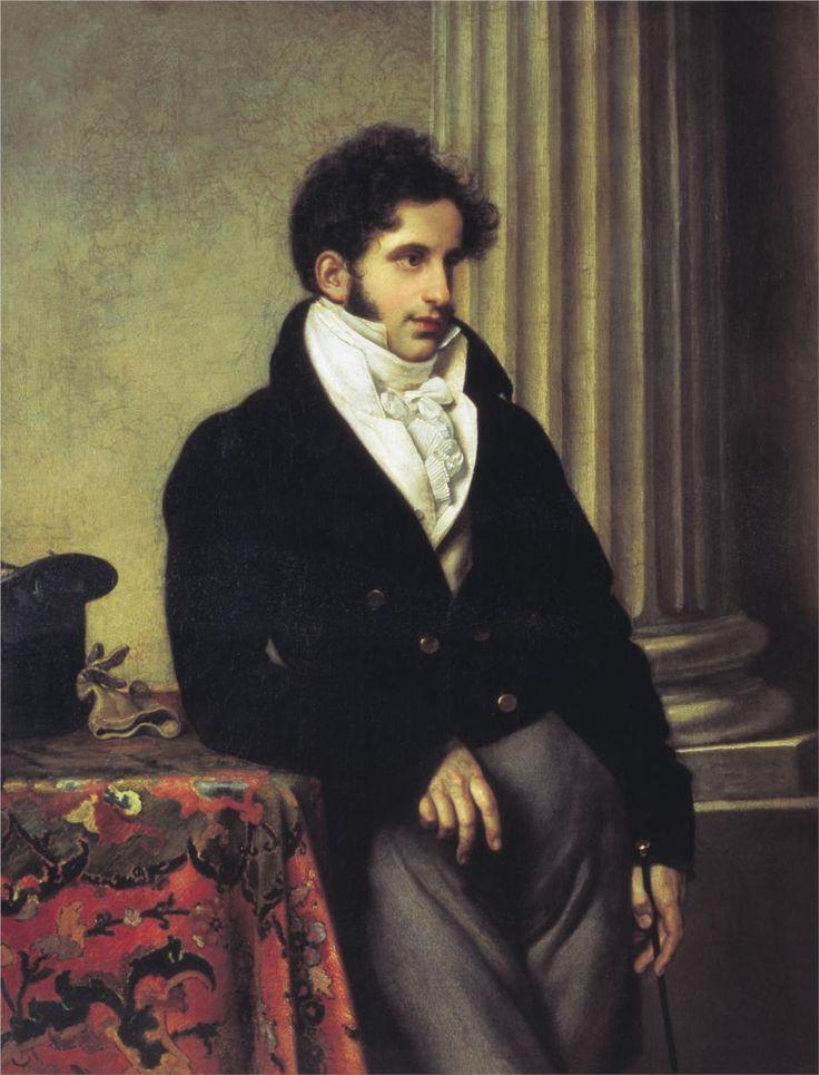 1815 Orest Kiprensky - Portrait of Count Sergey Uvarov
