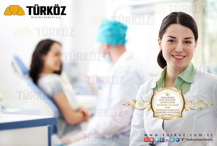 Sağlığımız için gecesini gunduzune katan tüm hemşirelerimizin, hemşire haftasını kutlarız. We celebrate nurse week to all nurses. #saglik #sağlık #health #nurse #medic #medical #health #turkoz #machinery #we #know #our #responsibilities #design #machine #dairy #milk #plant #company