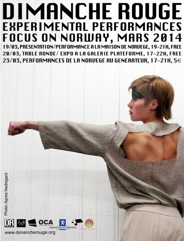 Dimanche Rouge, Experimental Performances, Focus on Norway, Gentilly (94250), Ile-de-France