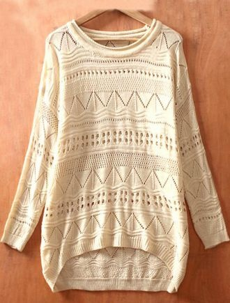 neutral cosy jumper - it's all in the details. #clothes