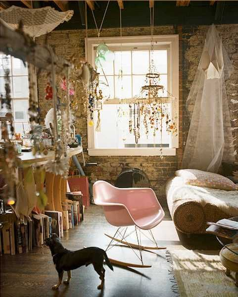 boho chic interior decorating style
