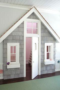 indoor playhouse - Private Residence, Lake Geneva, WI - Transitional - Kids - Chicago - John Myefski #indoorplayhouse
