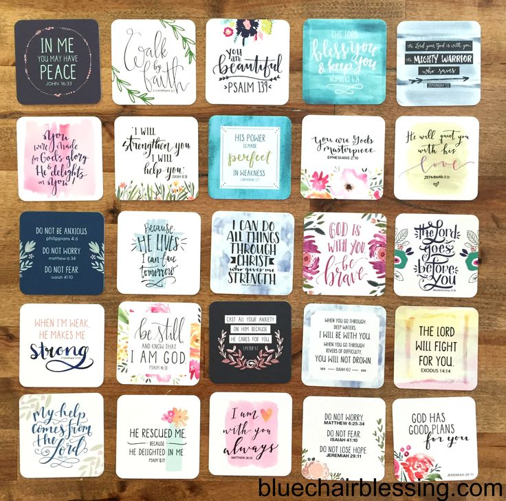 mini scripture cards