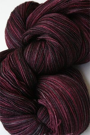madelinetosh Tosh Merino Lace Yarn superwash 2 ply Merino Lace Yarn weight weight knitting yarn in Color Oxblood $25