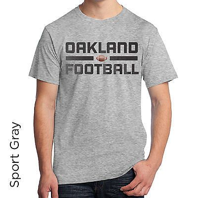 Oakland Football Graphic T-Shirt SL172