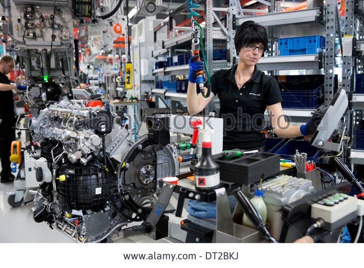 Mercedes-amg Engine Production Factory In Affalterbach, Germany Stock Photo, Picture And Royalty Free Image. Pic. 66435926