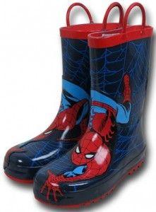Spider-Man Spider Crawl Kids Rain Boots