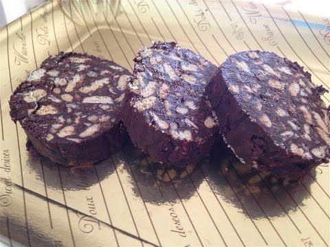 La ricetta completa del salame al cioccolato - YouTube