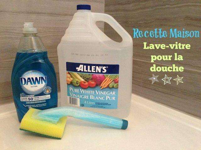 Nouveau super truc lave douche! Un mélange de Dawn et vinaigre (à quantité égale) qui semble-t-il fait des miracles pour les tâches causées par l'eau dure. Ici, mes deux salles de bain sont neuves alors je n'ai pas pu tester son pouvoir nettoyant mais je peux vous confirmer que ça fera plaisir à vos enfants […]