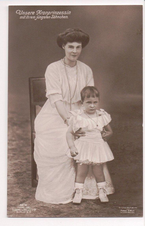 Vintage Postcard Duchess Cecilie Mecklenburg Schwerin Crown Princess Germany | eBay