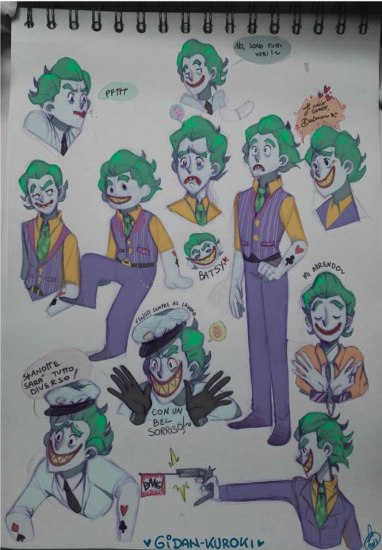 Some doodles of the Joker! I tried to draw him with a different style. I love that movie And I wanna draw a lot of fanarts. and batjokes The Lego Batman Movie ( Chris McKay; Warner Bros)